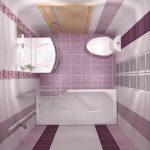 Как в ванной разместить мебель