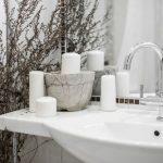 Как расположить раковину в ванной