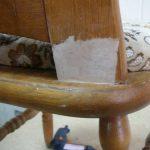 Гостиная ремонт со старой мебелью