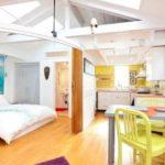 Дизайн однокомнатной квартиры малогабаритной фото