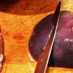 Подготовка говяжьей печени к приготовлению