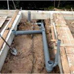 Проводка канализационной системы
