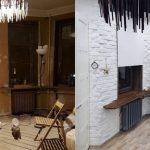 Квартиры до ремонта и после