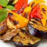Овощи на гриле сколько готовить
