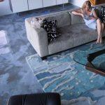 Дизайн наливных полов в квартире